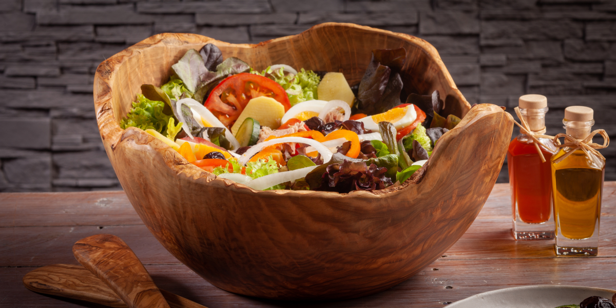Entdecken Sie unsere Salatschalen, gefertigt...