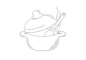 Kochen mit Olivenholz