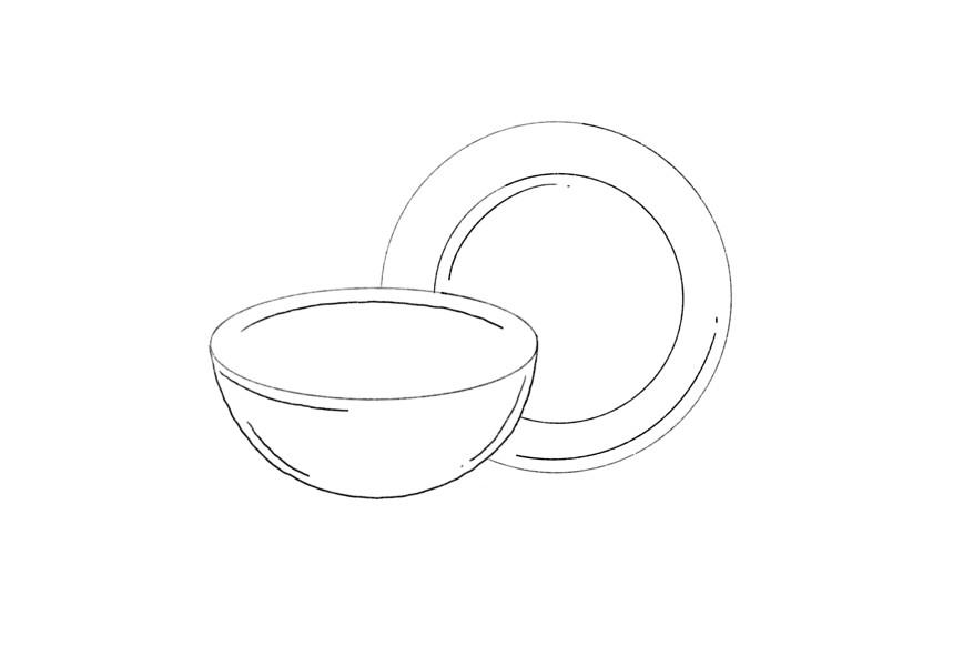 Schalen und Teller aus Olivenholz