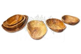 Aperitifschale aus Olivenholz T2, geölt groß -...