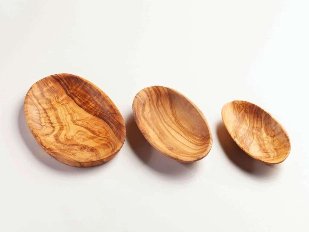 Aperitifschale 3er Set oval 17/15/13 cm