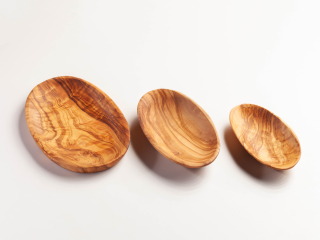 Nibbles tray - Set of three - ca.17/15/13 cm