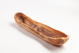 Baguetteschale aus Olivenholz, ca.45 cm