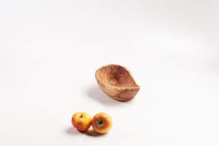 Fruit Bowl with natural edge, very small - ca. 19 cm