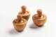 Pfeffermörser / Gewürzmörser aus Olivenholz, ca.10 cm