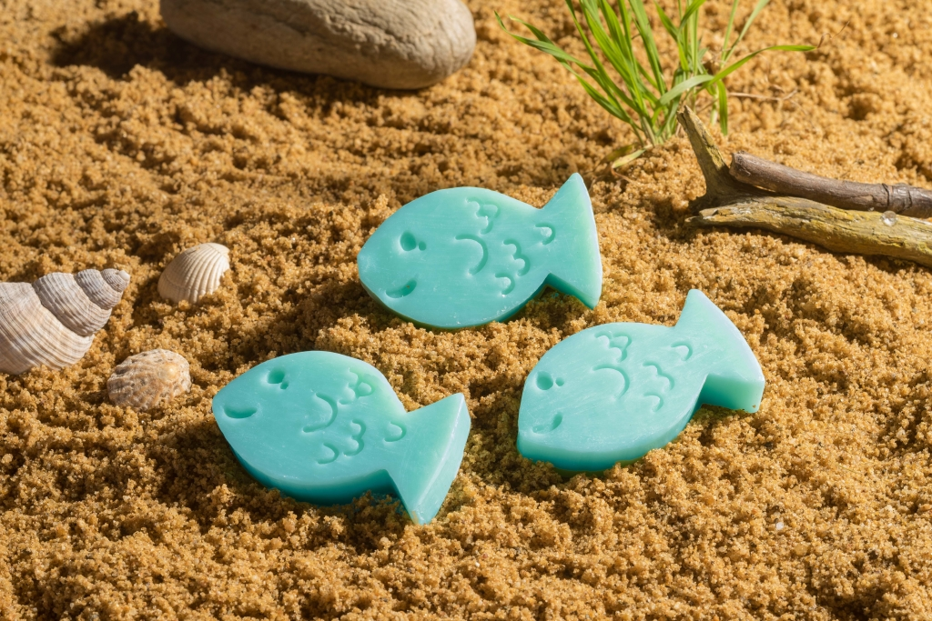 """Guestsoap """"Fish"""", 40gr. Scent """"Seaside"""""""