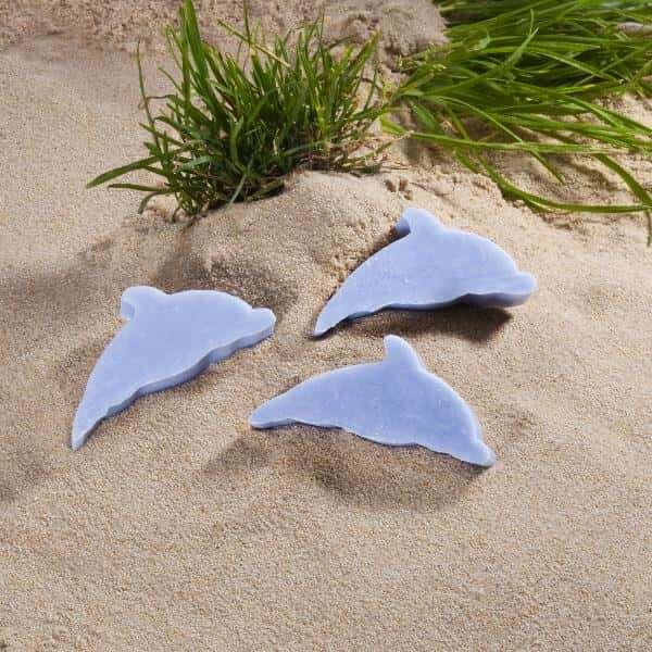 """Motivseife Strandmotiv Delphin 40gr. """"wild Ocean"""""""