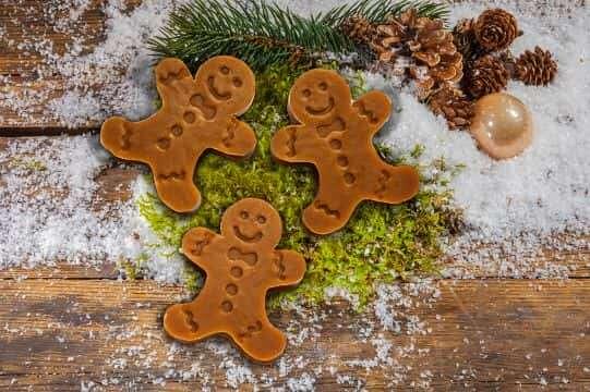 Motivseife Weihnachten Lebkuchenmann 55 gr