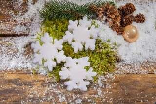 Gästeseife Weihnachten Schneeflocke ca. 45 gr