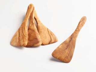 Pfannenwender aus Olivenholz - mini ca.19cm
