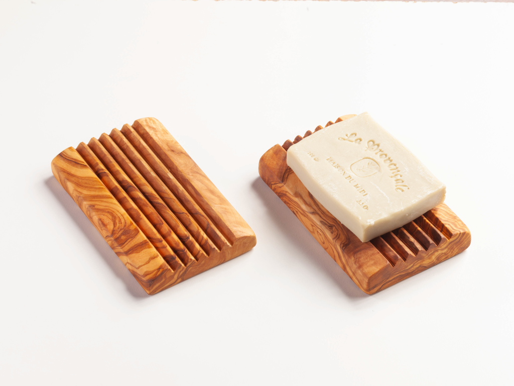 Soap tray rectangular big 9,5x13,5cm