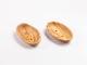 Seifanablage aus Olivenholz, oval gelocht  -klein-  ca. 8x13 cm