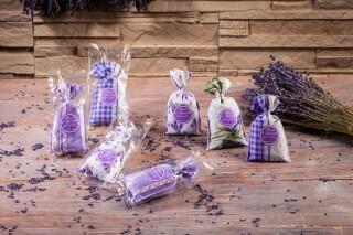 Lavendelsäckchen aus der Provence einzeln verpackt...