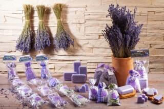 """Lavendel 4er Kette Motiv """"Le Puy"""" aus der Provence"""