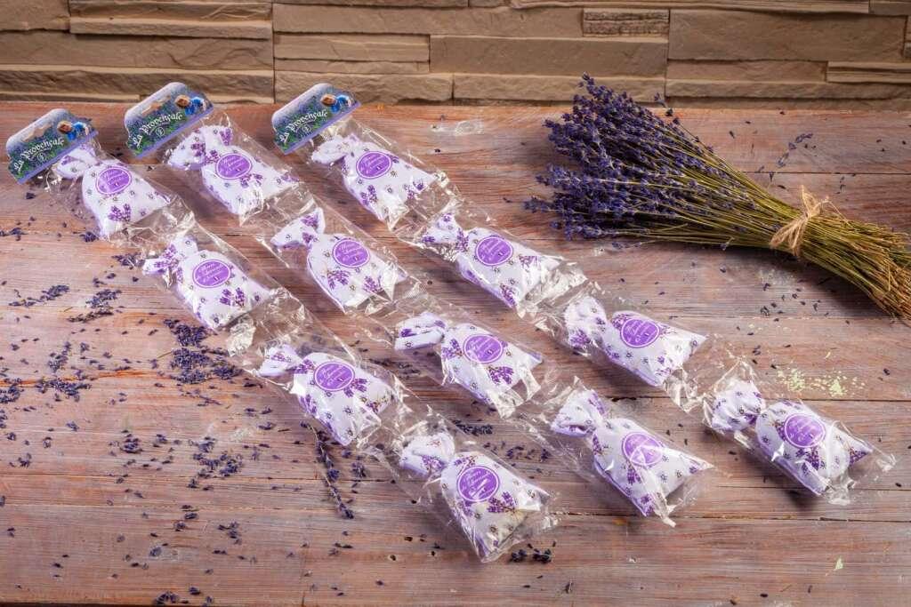 """Lavendel 4er Kette Motiv  """"Lavande de Grignan"""" aus der Provence"""