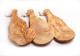 Brettchen aus Olivenholz mit Griff, -rustikal-