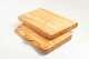 Tranchierblock aus Olivenholz, -rustikal- von 40-60 cm